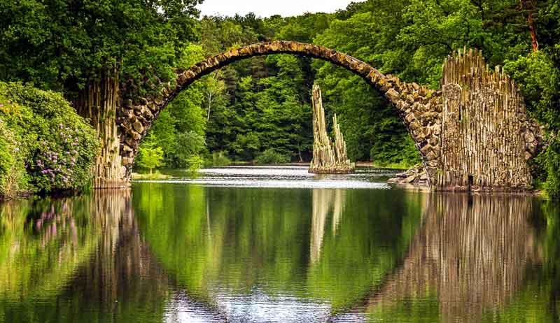 Jembatan Setan Tempat Misterius di Dunia