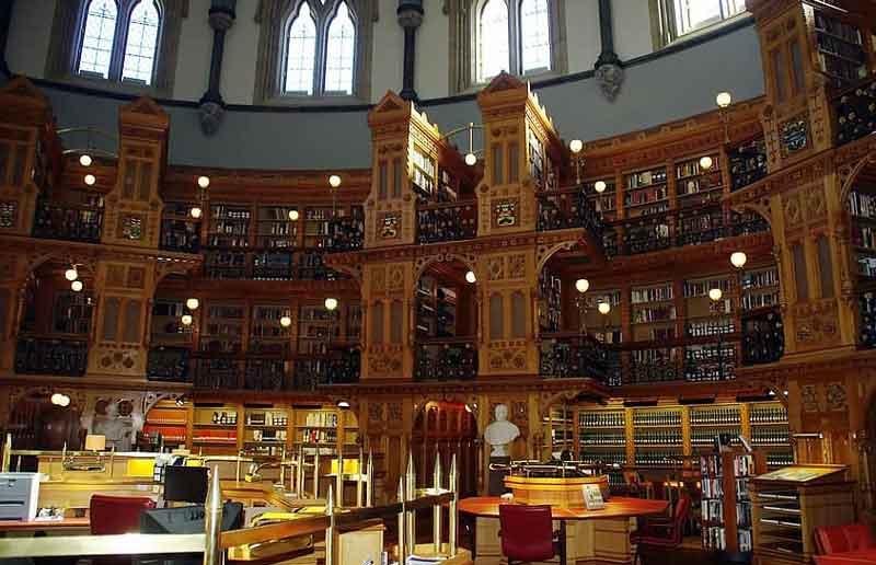 Perpustakaan Kongres - Perpustakaan Terbaik dan Termegah di Dunia