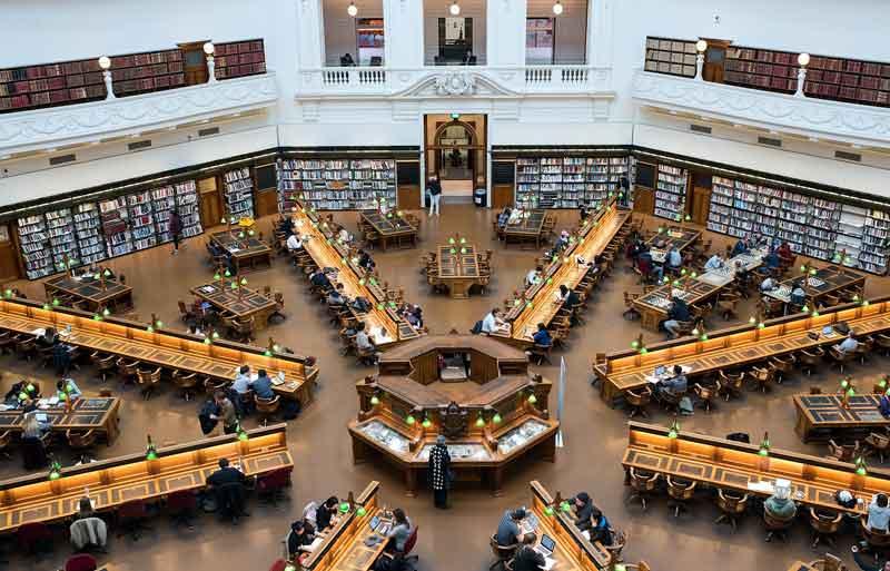 Perpustakaan Victoria - Perpustakaan Terbaik dan Termegah di Dunia
