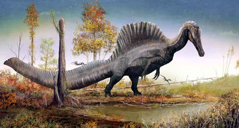 Spinosaurus dinosaurus paling berbahaya