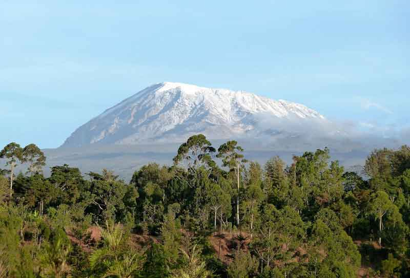 Kilimanjaro pemandangan gunung terindah di dunia