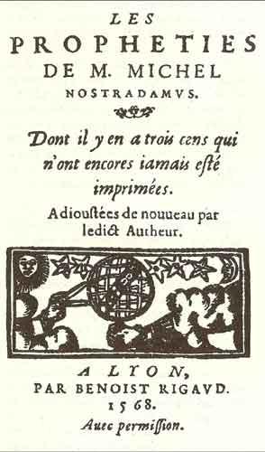 Les-Propheties buku kuno misterius
