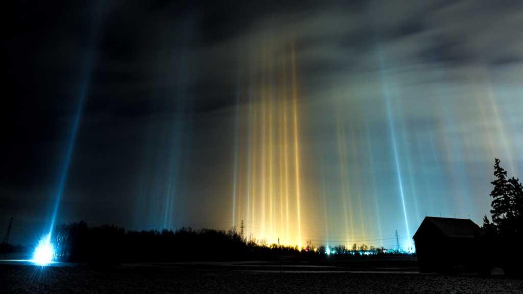 contoh fenomena alam Pilar Cahaya