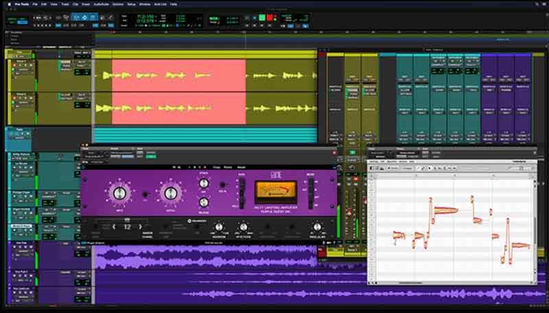 Pro Tools software produksi musik terbaik