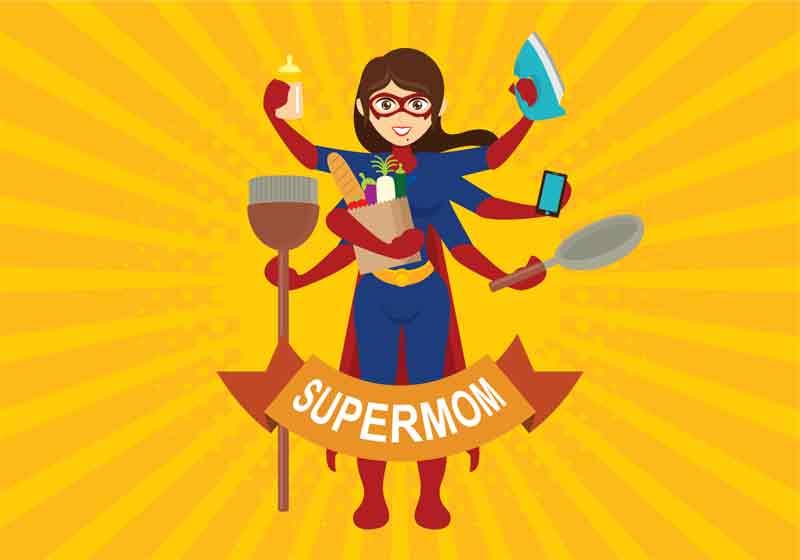 Cara Menjadi Supermom