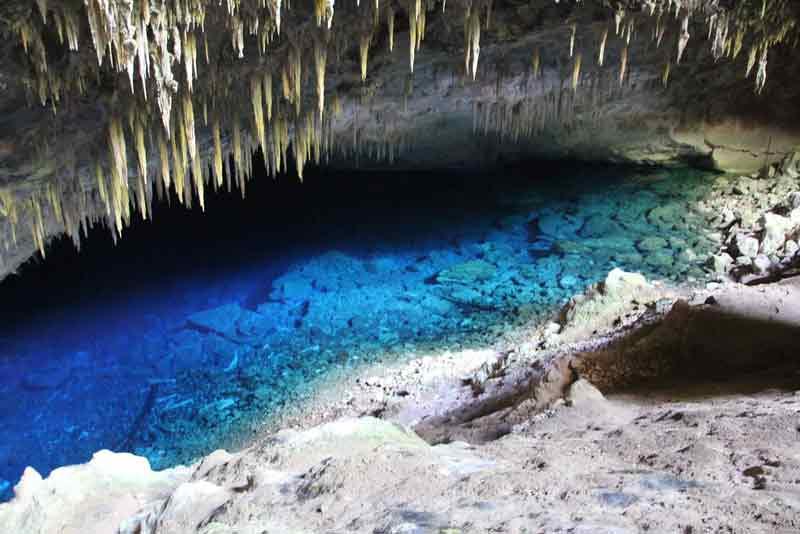 Gua Danau Biru