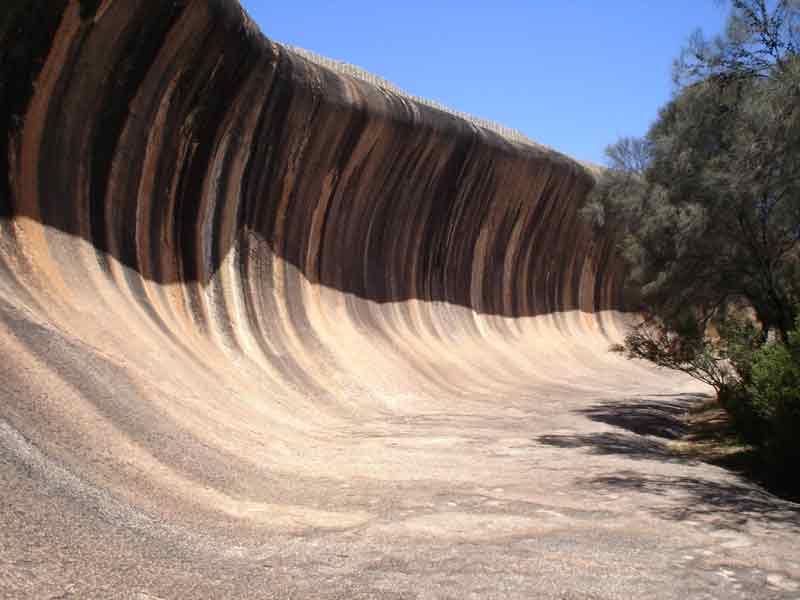 formasi geologi batu gelombang Australia