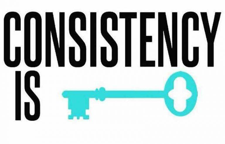 cara agar bisa konsisten