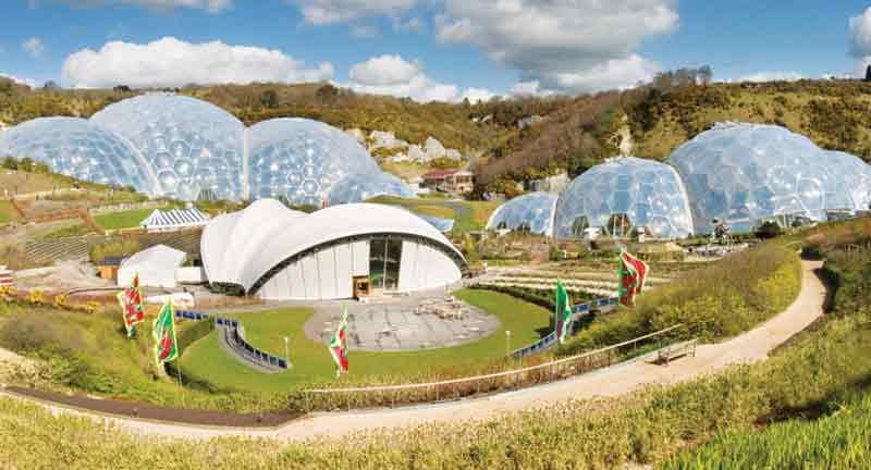 Eden Project Bangunan Ramah Lingkungan