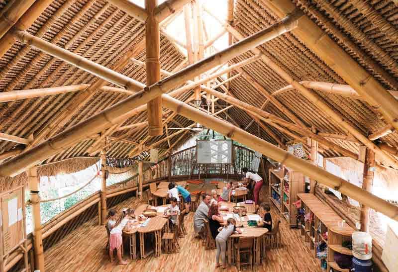 Green School Bali Bangunan Ramah Lingkungan