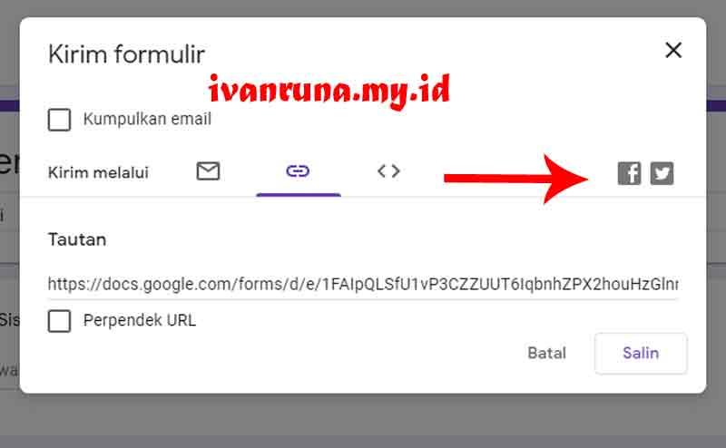 cara mengirim google form ke wa 4