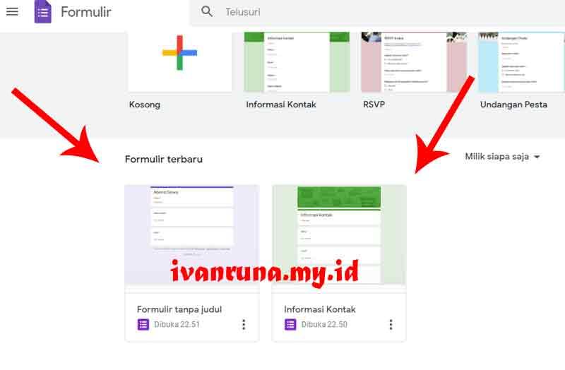 cara mengirim google form ke wa